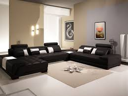 Black Leather Couch Living Room Ideas Living Room Modern Black Living Room Furniture Ideas Black