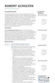 Banker Resume Example by Bankwesen Cv Beispiel Visualcv Lebenslauf Muster Datenbank