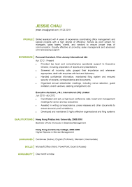 resume for personal assistant key personal skills for resume       resume for personal happytom co