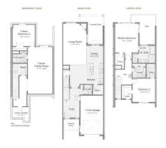 Huntington Floor Plan The Escapes At Edgewater