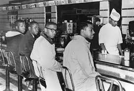 Greensboro Sit-In Photograph Courtesy of the Smithsonian Institution