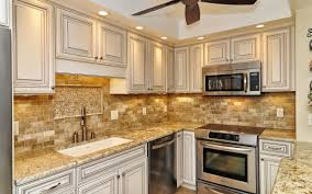 beautiful mixed marble 2x4 mosaic backsplash using crossville