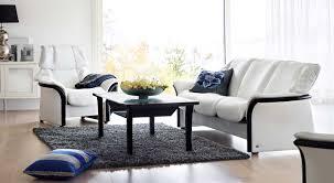 Low Back Sofa by Circle Furniture Eldorado Stressless Lowback Sofa Leather
