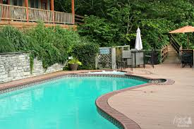 Pool Guest House Frugal Foodie Mama Guesthouse Lost River A Mountain Getaway
