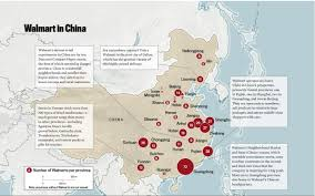 Map Of China Provinces How Walmart Is Changing China The Atlantic