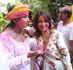 Veena Malik Holi Celebrations Stills,Veena Malik Holi Celebrations