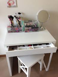 Bedroom Vanity Furniture Canada Ikea Micke As Vanity Desk Dressing Table White Minimalist Desk