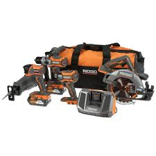 slickdeals home depot black friday ridgid r9652 5 tool combo kit 399 at the home depot b u0026m and