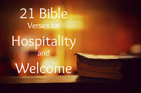 21 scripture verses biblical hospitality
