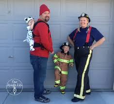 Halloween Costumes Firefighter Family Themed Babywearing Halloween Costume Wordless