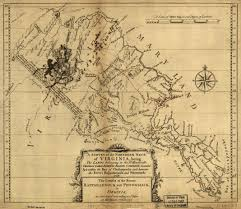 Virginia On Map by Virginia Northern Neck Land Documents