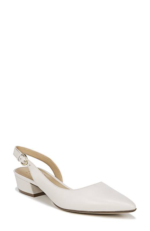 Naturalizer Banks Dress Shoes White- Womens