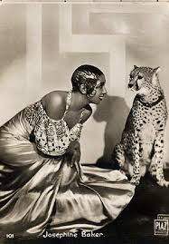josephine baker and chiquita the leopard