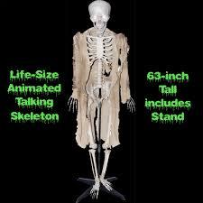 cheap spooky talking giant corn stalker animated halloween haunted