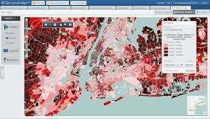 Thematic Maps Features Geographic Research Inc