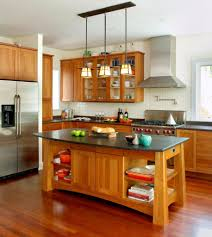 interior contemporary design kitchen island with modern kitchen