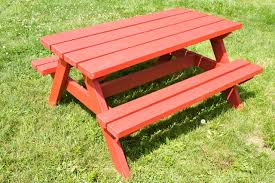 Plans To Build A Picnic Table Bench by Easy Diy Kid Sized Picnic Table Kids Picnic Table Plans