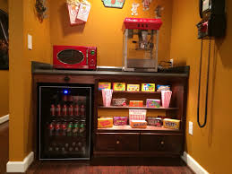 charlotte home theater our home theater u0027s concession stand home theater pinterest
