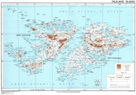 Physical Map Of South America by Maps Of Falkland Islands Malvinas Map Library Maps Of The World