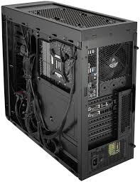 Cabinet For Pc by Carbide Series 330r Titanium Edition Silent Mid Tower Case