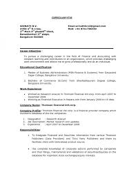 Research Analyst Sample Resume by Resume Budget