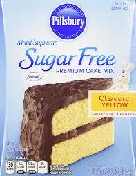 amazon com pillsbury moist supreme sugar free classic yellow