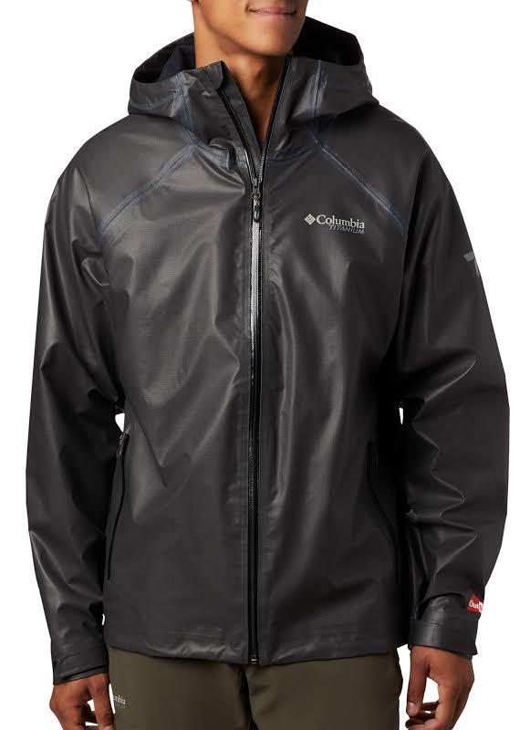 Columbia OutDry Ex Reign Jacket Black Heather Medium 184909-010-M