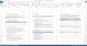 Business Continuity And Disaster Recovery Plan Template Business Continuity Plan Template 48 Pages Word 12 Excel