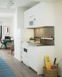 Micro Studio Plan Residences The House At Cornell Tech Roosevelt Island