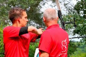 David Schillinger und Trainer Frank ter Veen Foto: Eileen Woestmann - 49594996