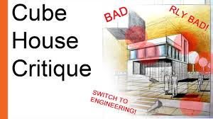 House Architectural How To Draw A House Architectural Drawing For Cube House Design