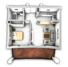 Garage Apartment House Plans Mockup With Furniture Garage Apartments Pinterest Mockup