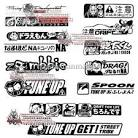 Reflective Stickers Jdm Car Stickers Refires Letter Car Sticker ...