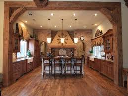 Simple Country Kitchen Designs The Glow And Colored Rustic Kitchen Ideas The Latest Home Decor