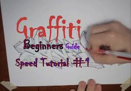 how to draw graffiti in cool u0026 easy font on paper for beginners