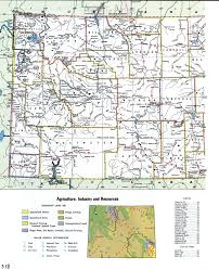 Wyoming Map Usa by Wyoming Topographic Mapfree Maps Of North America
