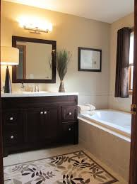 tan wall bathroom design ideas pictures remodel and decor