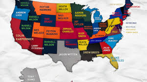 Peyton Colorado Map by This Interactive Map Shows The Best Selling Nfl Jerseys Among
