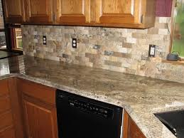 Kitchen Tile Backsplash Design Ideas Decor Exciting Kitchen Decor Ideas With Peel And Stick Mosaic