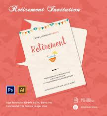 Retirement Function Invitation Card Retirement Invitation Template U2013 15 Free Psd Vector Eps Ai