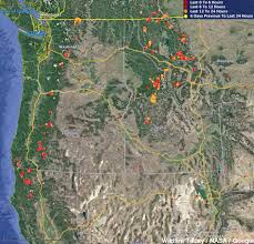 Wild Fires In Oregon Update by Oregon U2013 Wildfire Today
