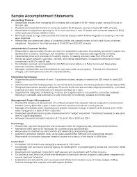 Resume Examples  Examples of Resumes for Professional Summary with         Accomplishments Resume Examples  Examples Of Accomplishments Statements For Career Objective With Experience In Finance Accounting And
