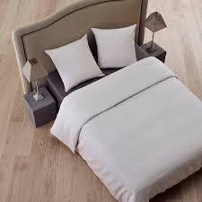 chemin de lit en lin parure de lit carlina naturel madura