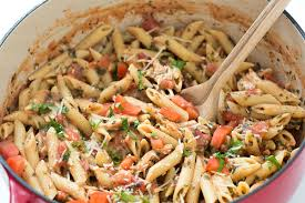 Pasta Recipes 20 Minute Tuscan Chicken With Penne Pasta Gal On A Mission