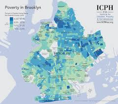 Brooklyn New York Map by Poverty In Brooklyn A Block By Block Analysis Visual Ly