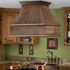 Kitchen Hood Fans Decor Copper Island Range Hoods For Interesting Kitchen