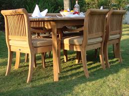 Discount Teak Furniture Outdoor Teak Furniture Placement And Materials Home Design By Fuller