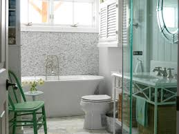 charming interior with nice green chair on narrow marble tile