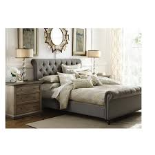 Home Decorators Reviews Home Decorators Collection Gordon Natural King Sleigh Bed