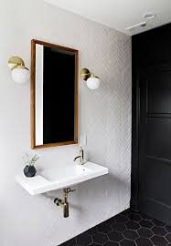 Black And White Small Bathroom Ideas Best 10 Black Bathrooms Ideas On Pinterest Black Tiles Black